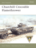 Churchill Crocodile Flamethrower