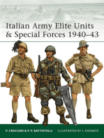 Italian Army Elite Units & Special Forces 1940–43