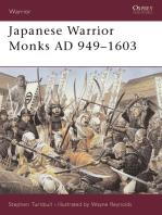 Japanese Warrior Monks AD 949–1603
