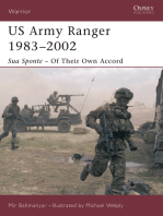 US Army Ranger 1983–2002: Sua Sponte – Of Their Own Accord