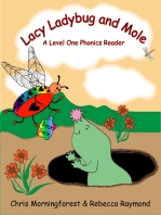 Lacy Ladybug and Mole - A Level One Phonics Reader