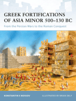 Greek Fortifications of Asia Minor 500–130 BC
