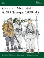 German Mountain & Ski Troops 1939–45