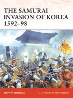 The Samurai Invasion of Korea 1592–98