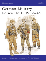German Military Police Units 1939–45