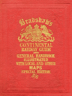 Bradshaw's Continental Railway Guide (full edition)