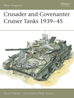 Crusader and Covenanter Cruiser Tanks 1939–45