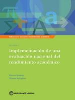 Evaluaciones nacionales del rendimiento académico  Volumen 3: Implementación de una evaluación nacional del rendimiento académico