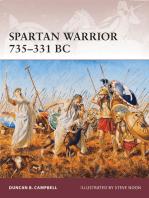 Spartan Warrior 735–331 BC