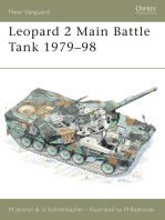 Leopard 2 Main Battle Tank 1979–98