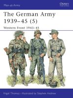 The German Army 1939–45 (5)