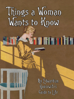 Things a Woman Wants to Know