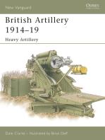 British Artillery 1914–19: Heavy Artillery