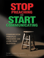 Stop Preaching and Start Communicating