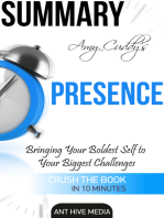 Amy Cuddy's Presence