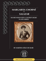 Margarita Chorné y Salazar, the First Woman in Latin America with a University Degree