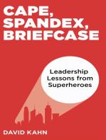 Cape, Spandex, Briefcase