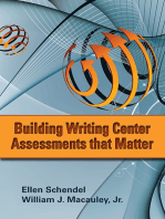 Building Writing Center Assessments That Matter