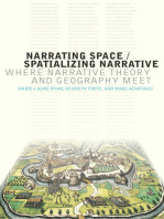 Narrating Space / Spatializing Narrative