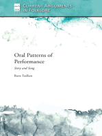 Oral Patterns of Performance