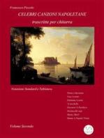 Celebri Canzoni Napoletane per Chitarra Volume 2