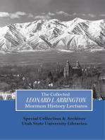 Collected Leonard J Arrington Mormon History Lectures