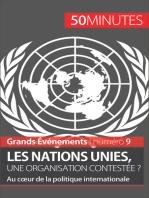 Les Nations unies, une organisation contestée ?