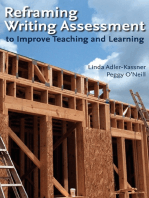 Reframing Writing Assessment to Improve Teaching and Learning