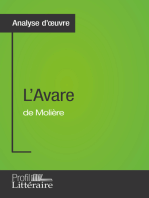 L'Avare de Molière (Analyse approfondie)
