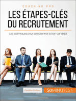 Les étapes-clés du recrutement