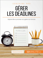 Gérer les deadlines