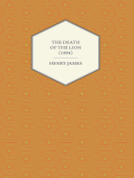 The Death of the Lion (1894)