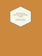 Notes of a Son and Brother (1914)