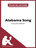 Alabama Song de Gilles Leroy (Fiche de lecture)