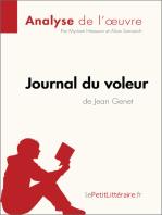 Journal du voleur de Jean Genet (Analyse de l'œuvre)