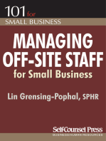Managing Off-Site Staff for Small Business