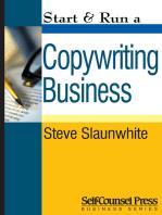 Start & Run a Copywriting Business