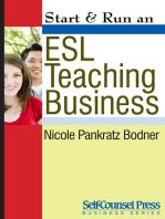 Start & Run an ESL Teaching Business
