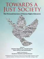Towards a Just Society: The Personal Journeys of Human Rights Educators