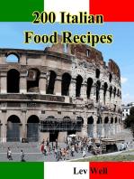 200 Italian Food Recipes