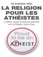 La religion pour les athéistes