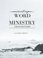 Unveiling Word Ministry From Proverbs