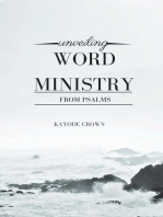 Unveiling Word Ministry From Psalms