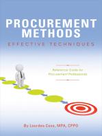 Procurement Methods