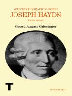 Apuntes biográficos sobre Joseph Haydn