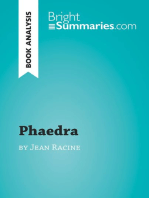 Phaedra by Jean Racine (Book Analysis)