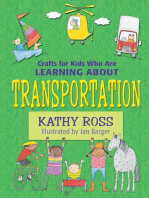 Crafts for Kids Who Are Learning about Transportation
