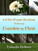A 31 Day Woman's Devotional to Becoming Complete in Christ