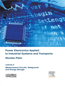 Power Electronics Applied to Industrial Systems and Transports: Volume 5: Measurement Circuits, Safeguards and Energy Storage