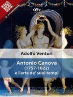 Antonio Canova e l'arte de' suoi tempi